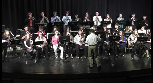 Waukesha West Jazz at Friday Night Live June 7, 2013
